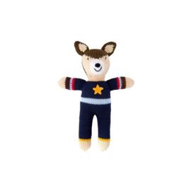 "Gebreide knuffel "" Deer boy"""