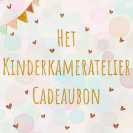 Coming soon: Het Kinderkameratelier Cadeaubon
