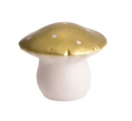 Heico lamp paddenstoel - goud - Medium