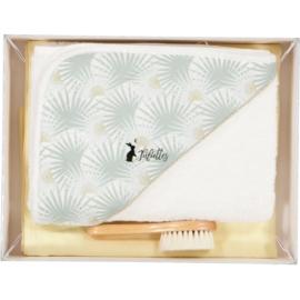 Luxe geschenkdoos - 3-delig - palmboom