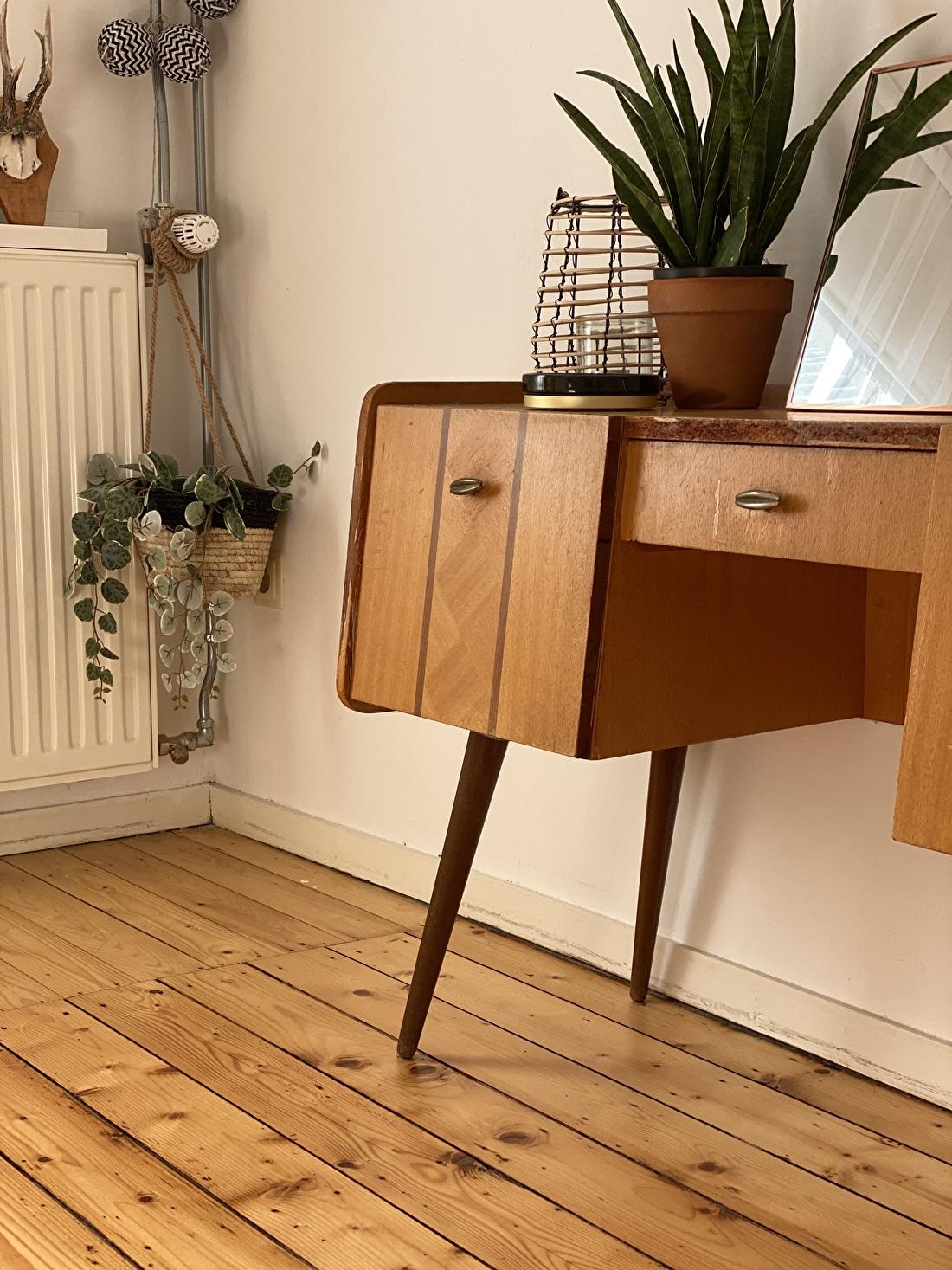 Tienerkamer vintage meubel