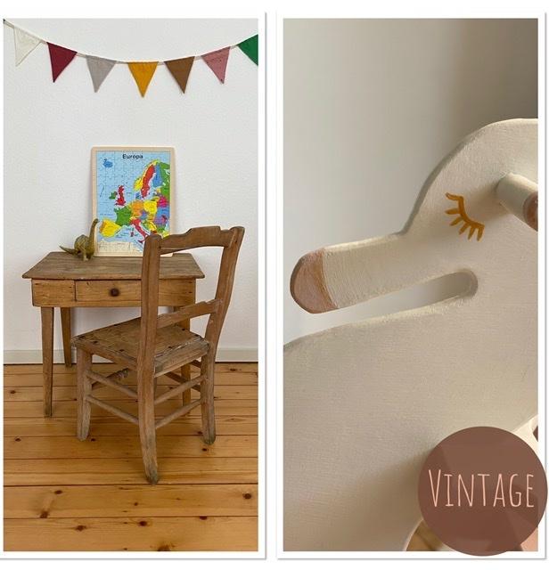 Vintage kinderkamer meubels