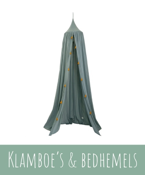 Bedhemels en klamboe's voor de kinderkamer