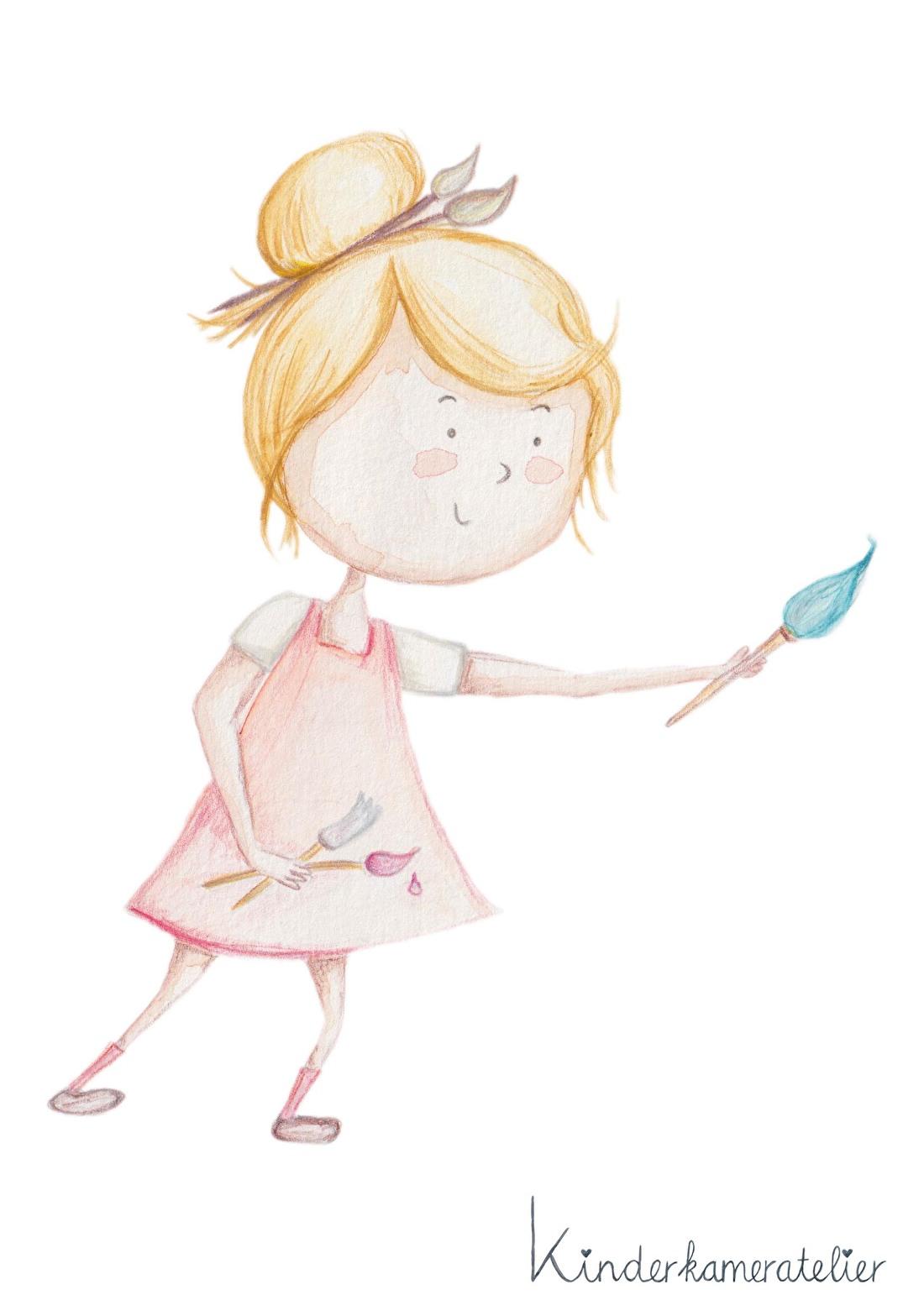 Illustratie kinderkamer