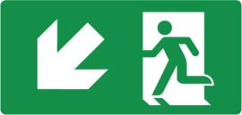 Pictogram trap af links