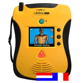 Defibtech Lifeline VIEW Dual AED NL-FR