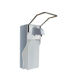 Elleboog dispenser handdesinfectie - handzeep