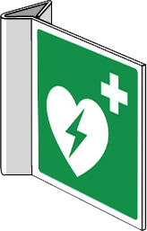 Pictogram AED haaks