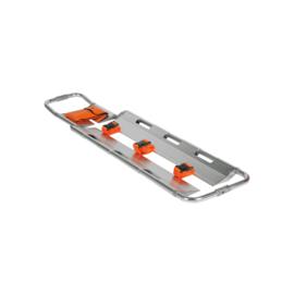 Spencer stretcher grijs met 3 banden (schepbrancard)