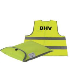 Veiligheidsvest BHV in tasje XL