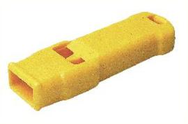 Fluit geel tweetonig