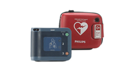 Philips HS-1 AED complete set