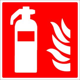 Pictogram blusser met vlam