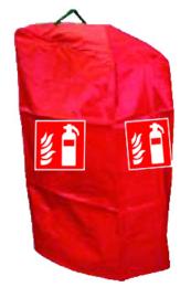 Hoes brandblusser 6/12 kg rood