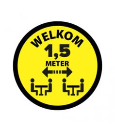 SitSafe 1,5 meter geel vinyl Ø90mm