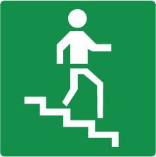 Pictogram trappenhuis