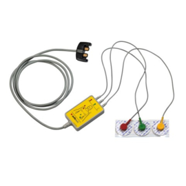 Defibtech Lifeline VIEW AED 3-lead kabel PRO en ECG