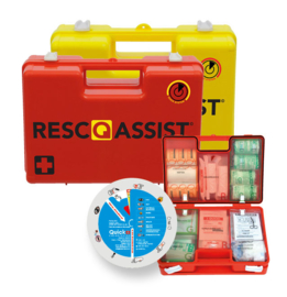 Resc-Q-Assist Q50 geel gevuld conform BHV richtlijnen