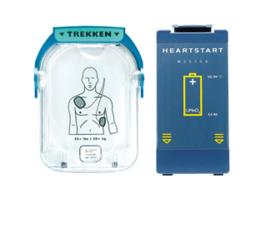Philips HS-1 batterij en elektroden  AED