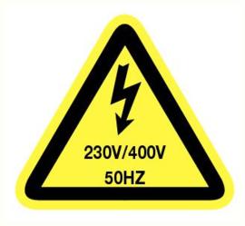 230v/400v 50 hz