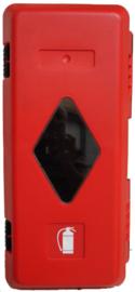 Beschermkast brandblusser 335x620x240 mm
