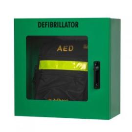 Defibtech AED Wandkast Groen met alarm