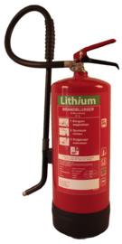 Brandblusser lithium schuim 6 ltr 27A