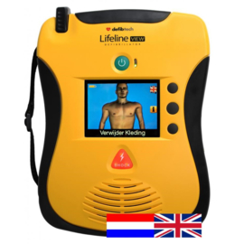Defibtech Lifeline VIEW Dual AED NL-ENG