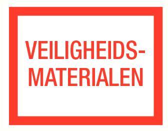 Veiligheids-materialen