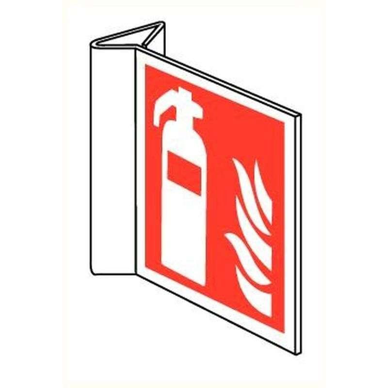 Pictogram blusser met vlam haaks