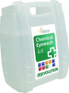 Verbandtrommel Chemical Eyewash Kit (R)evolution