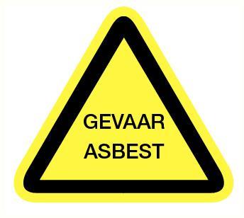 Gevaar asbest