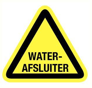 Waterafsluiter