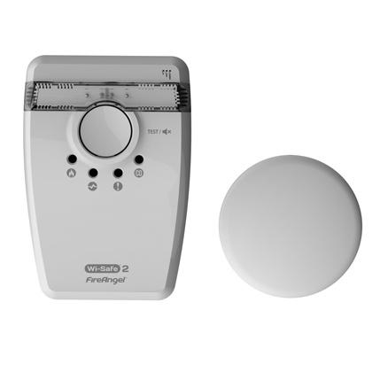 FireAngel stroboscooplicht en trilplaat W2-SVP-630 WiSafe2
