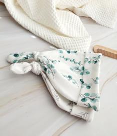 Newborn 2 pack mutsjes - eurcalyptus