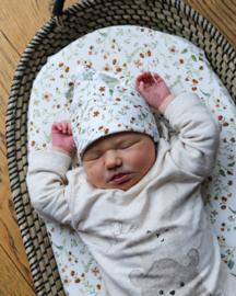 New born mutsje - bloementuin