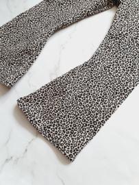 Flared - leopard zand