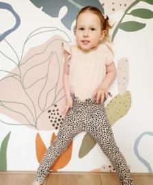 Paperbag legging - luipaard