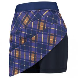 Golfrok PAR69 -  Bucci Skirt Diamond- Paars/blauw/camel