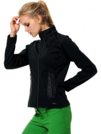 Dames sport jacket MDC Softshell - kleur Zwart