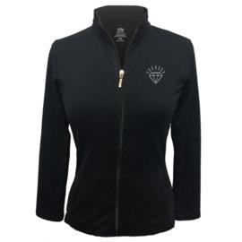 """Damen Sportjacke """"Titania"""" Schwartz - design Diamant"""