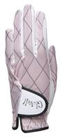 "Dames zonneklep / visor ""Glove It""– design Rose Gold Quilt"