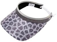 "Dames zonneklep / visor ""Glove It""– design snow Leopard"