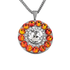 "Ko Olina Fire Opal Golf Ballmarker ""Girls Golf Bling"" - Orange / Silber. Ab: €20.95 - €29.95"