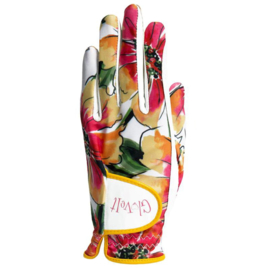 "Damen Golf Handschuhe ""Glove It"" - design Sangria"