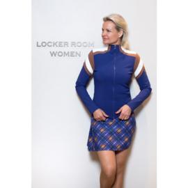 Dames golf jacket Par69 Bucci -Paars/ Blauw