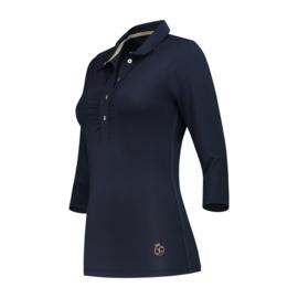 """Damen Golfpolo """"PAR69"""" Dünkelblau - design Bien Sort"""