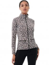 Dames sport jacket MDC Meryl stretch jacket taupe/black