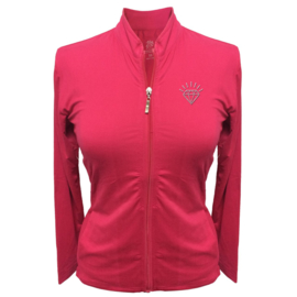 "Dames sport jacket ""Titania"" roze – design Diamant"