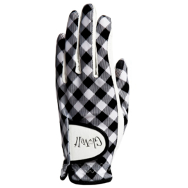 "Damen Golf Handschuhe ""Glove It"" - design Checkmate"